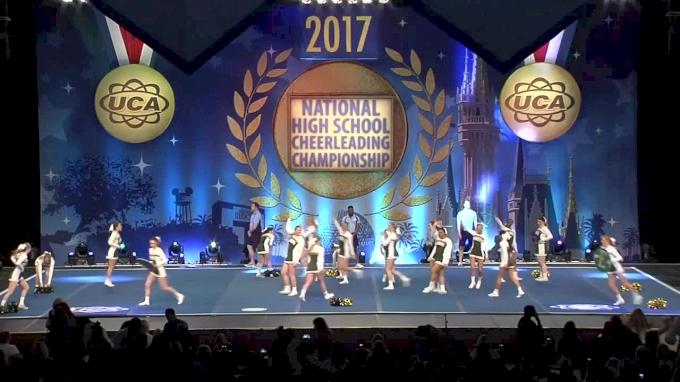 Clearview Regional High School [Large Varsity Non Tumbling Finals - 2017 UCA National High School Cheerleading Championship]