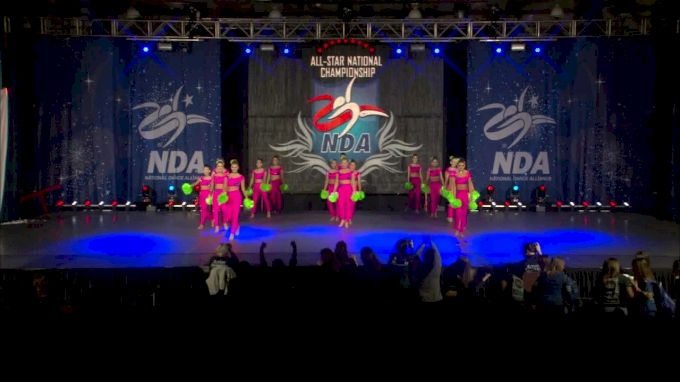 Dancin Bluebonnets [Senior Pom Day 2 - 2017 NDA All-Star Nationals]