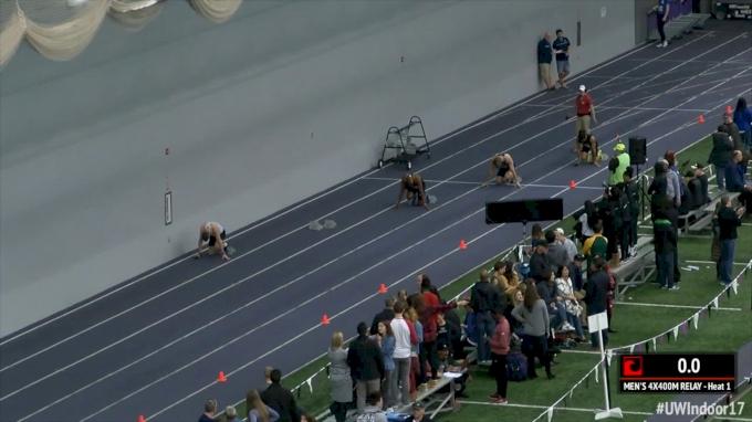Men's 4x400m Relay, Final - Heats 1-4