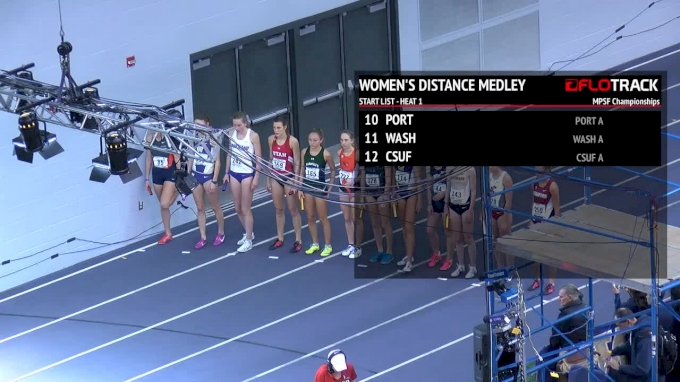 Women's Distance Medley Relay, Heat 1 - Dani Jones Out-Kicks Elise Cranny!