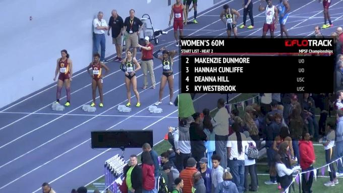 Women's 60m, Final 2 - Hannah Cunliffe runs 7.15