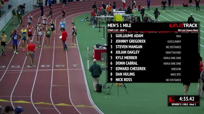 Men's Mile, Edward Cheserek Breaks NCAA Record 3:52.01!