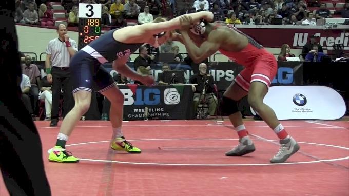 184 m Semi Final, Myles Martin, TOSU vs Bo Nickal, PSU