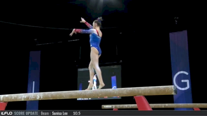 Maile O'Keefe - Beam, USA - 2017 International Gymnix  - Junior Cup