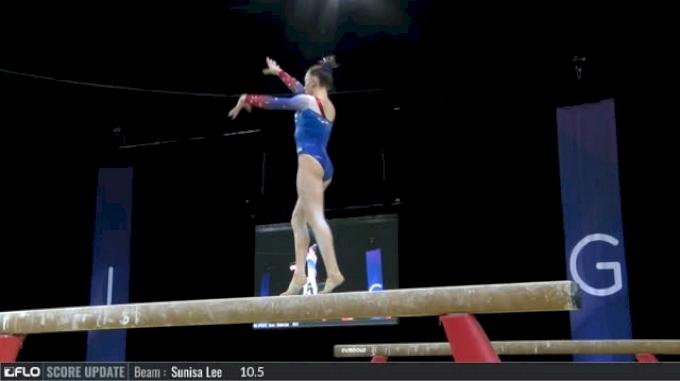 Maile O'Keefe - Beam, USA - 2017 International Gymnix  - Junior Cup