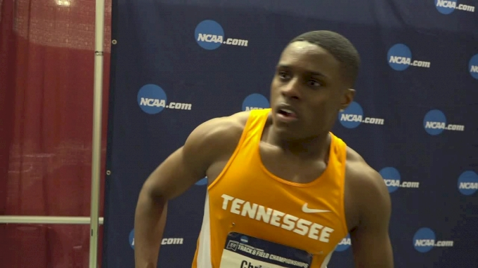 Christian Coleman after sweeping 60m, 200m at NCAAs