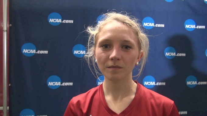 Katherine Receveur after showing resilience in DMR and 3K