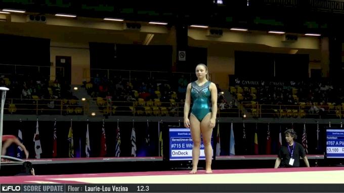 Madeline McLellan - Floor, CGC - 2017 International Gymnix - Event Finals