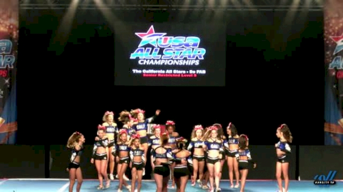 The California All Stars - So FAB [2017 L5 Senior Restricted Day 1] USA All Star Championships