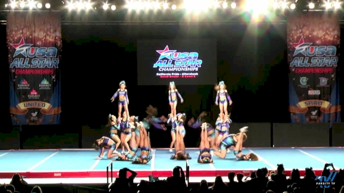 California Pride - Aftershock [2017 L2 Small Senior - C Day 1] USA All Star Championships