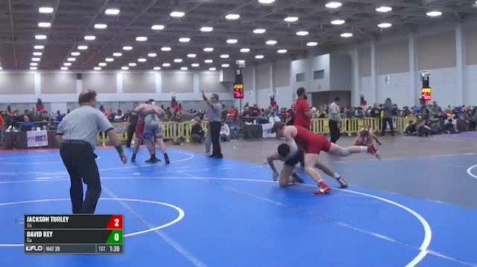 160 Round of 16 - Jackson Turley, Va vs David Key, Ga