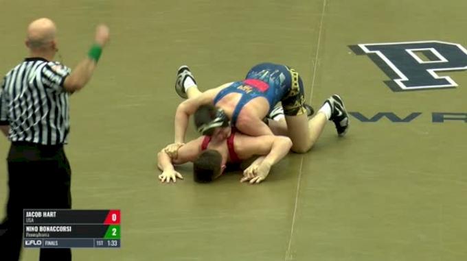 182-B Finals - Jacob Hart, USA vs Nino Bonaccorsi, Pennsylvania