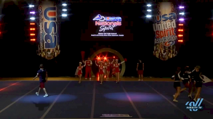 Mater Dei High School [2017 Small Co-Ed Varsity Show Cheer Advanced (6-36) Finals] USA Spirit Nationals