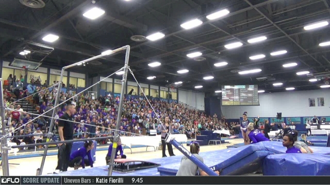 Lisa O'Donnell - Bars, UW Whitewater - 2017 NCGA Championships