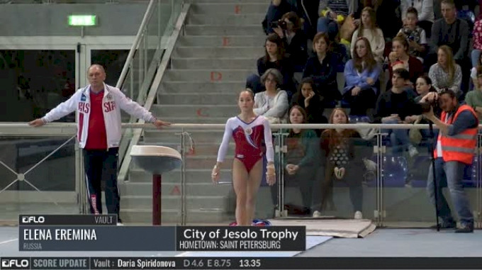 Elena Eremina - Vault, Russia - 2017 City of Jesolo Trophy