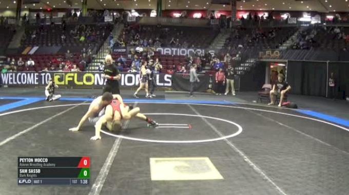 145 Semi-Finals - Peyton Mocco, Askren Wrestling Academy vs Sam Sasso, Dark Knights