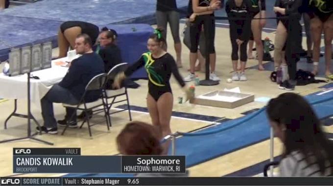 Candis Kowalik - Vault, Brockport - 2017 NCGA Championships - Event Finals