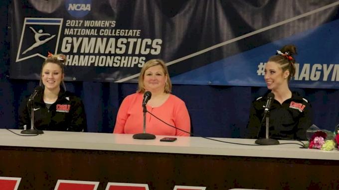 Maddie Gardiner, Coach Chaplin, & Kaytianna McMillian On Oregon State's Fight To Nationals