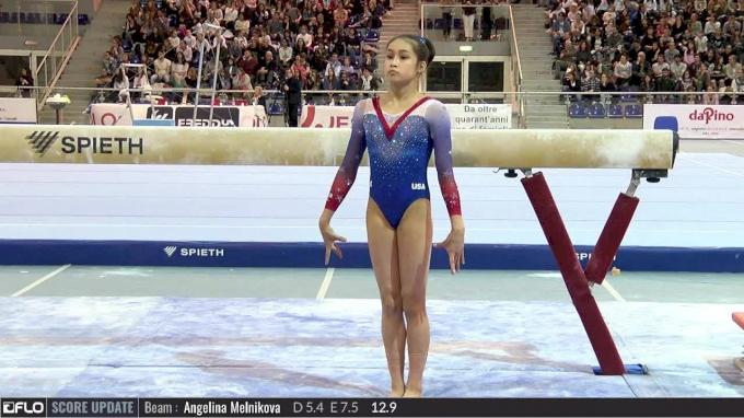Victoria Nguyen - Beam, USA - 2017 City of Jesolo Trophy - 2017 Jesolo Trophy - Event Finals