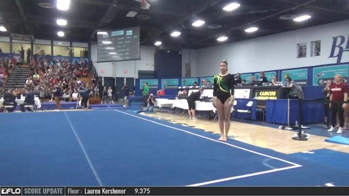 Meghan Cash - Floor, Brockport - 2017 NCGA Championships - Event Finals