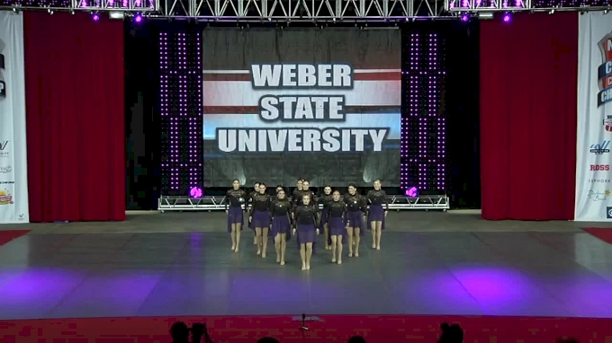 Weber State University [Jazz Division I Finals - 2017 NCA & NDA Collegiate Cheer and Dance Championship]