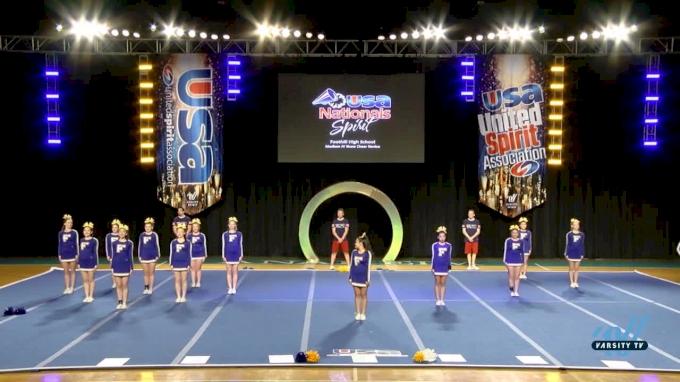 - Foothill High School [2017 Medium JV Show Cheer Novice Day 1] USA Spirit Nationals