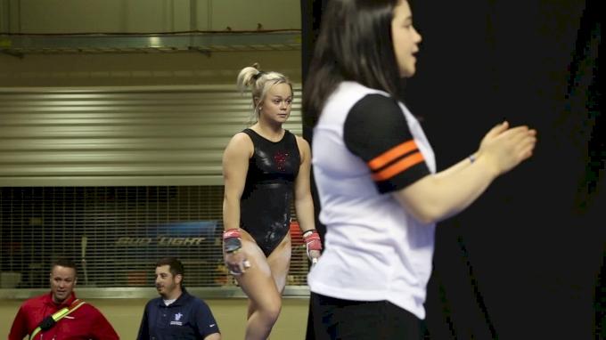 Haylee Young Training Bars (Iowa State)- 2017 NCAA Championships Training