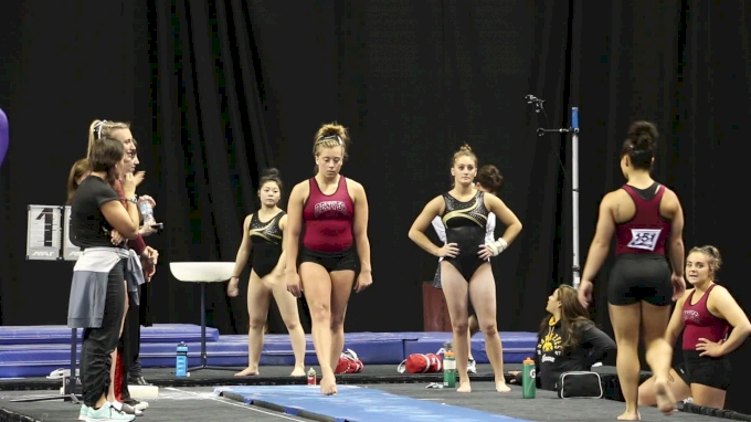 Maddie Karr Yurchenko One And A Half (Denver)- 2017 NCAA Championships Training