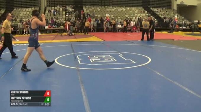 134-H 5th Place - Chris Esposito, Vhw vs Matthew Patrizio, Acsend/Spartan