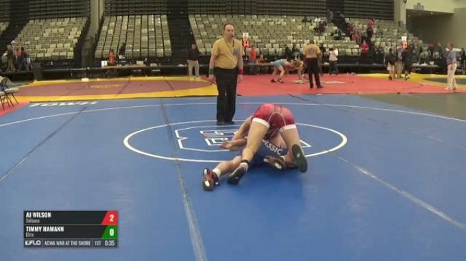 154-H 2nd Place - Aj Wilson, Solanco vs Timmy Hamann, Elite