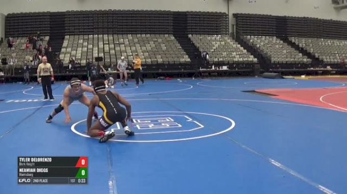 172-H 2nd Place - Tyler DeLorenzo, Dark Knight vs Neamiah Diggs, Harrisburg