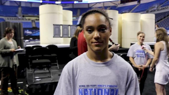 AJ Jackson Talks About OU 'Ending On Empty' - 2017 NCAA Championships Super Six