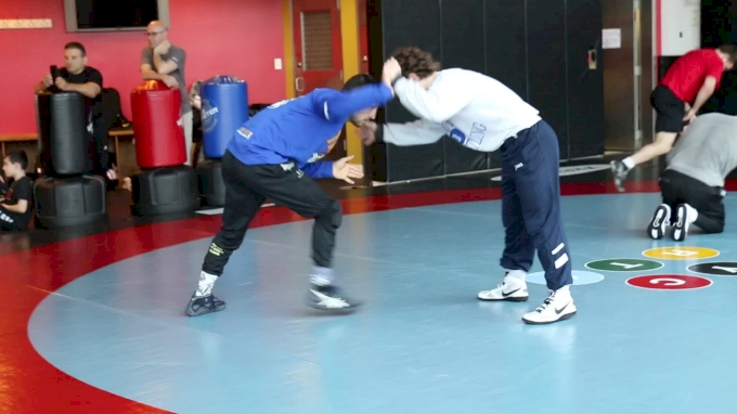 Daton Fix And Frank Perrelli Sparring