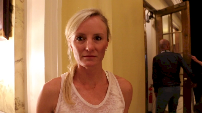 Shalane Flanagan liked commentating, but she wants to race again