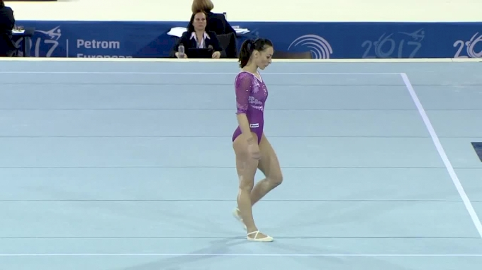 Catalina Ponor - Floor, Romania - 2017 European Championships