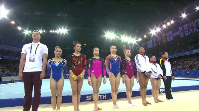 Full Replay: 2017 European Championships Women's Floor Final