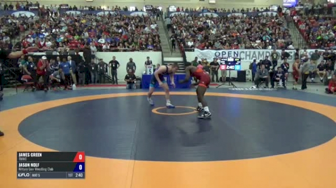 70 Semis - James Green, TMWC vs Jason Nolf, Nittany Lion Wrestling Club