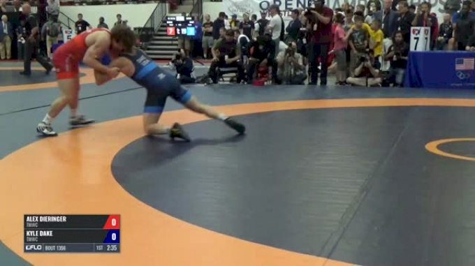 74 Semis - Alex Dieringer, TMWC vs Kyle Dake, TMWC