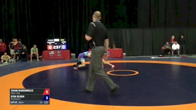 66 Semis - Yianni Diakomihalis, Finger Lakes vs Ryan Deakin, Northwestern