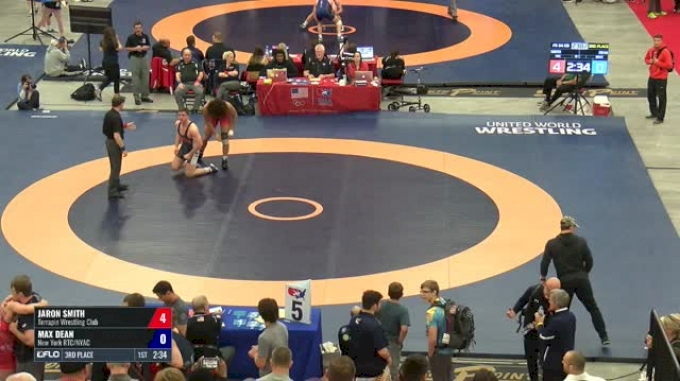 84 3rd Place - Jaron Smith, Terrapin Wrestling Club vs Max Dean, New York RTC/NYAC