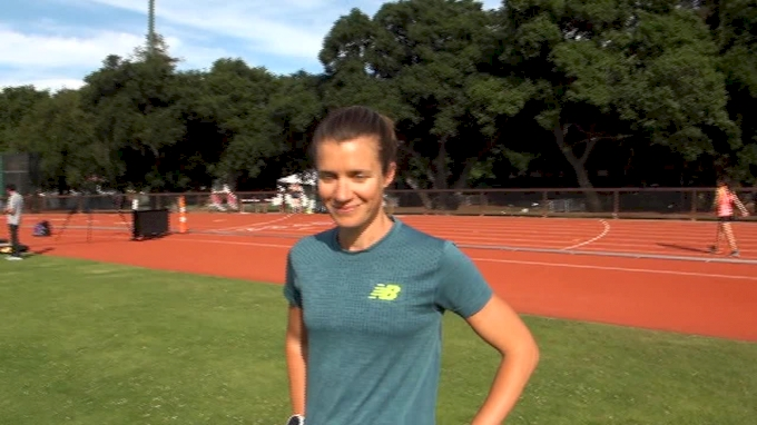 Kim Conley before first track race since Rio Games