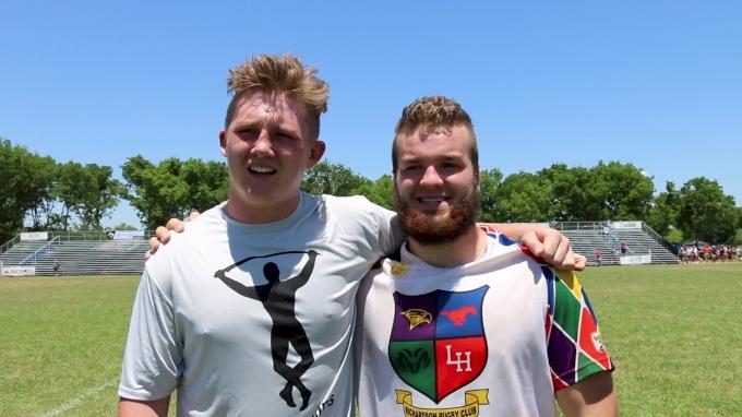 Jordan Wander & Parker McMillan Recap Their Semi-Final Win