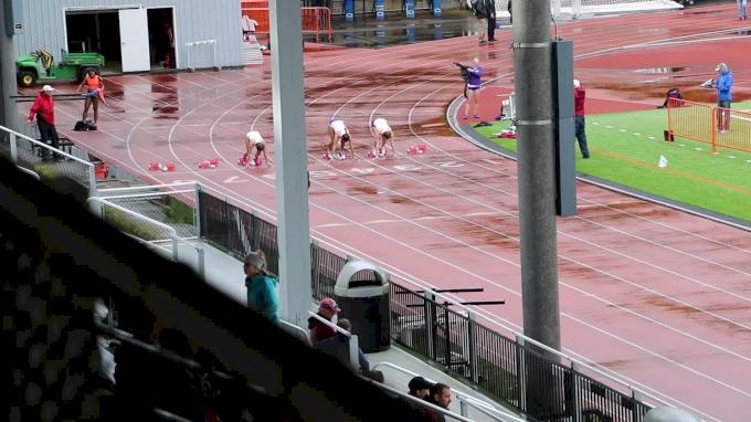 Women's 100m, Heat 2