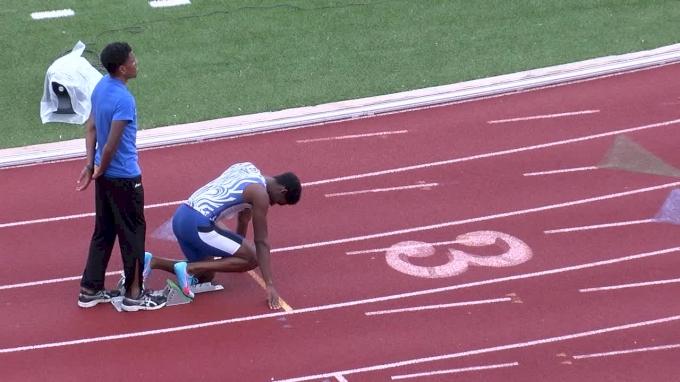 Men's 400m, Heat 4