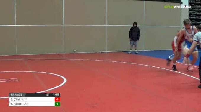150 lbs Rr rnd 5 - Stephen O'Neil, Buxton Intense Ms vs Kael Howell, Team Delaware MS