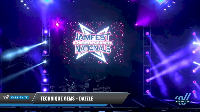 technique gems dazzle 2018 mini prep 2 day 1 jamfest cheer super nationals