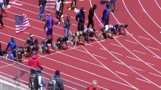 Men's 100m, Heat 3