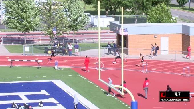 Men's 4x400m Relay, Heat 1