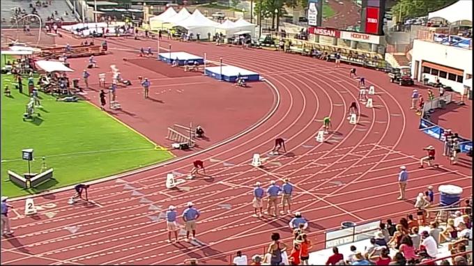 Men's 400m, Heat 1 - Fred Kerley Breaks Collegiate Record 43.70!
