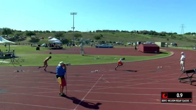 Boy's 4x100m Relay Classic, Final